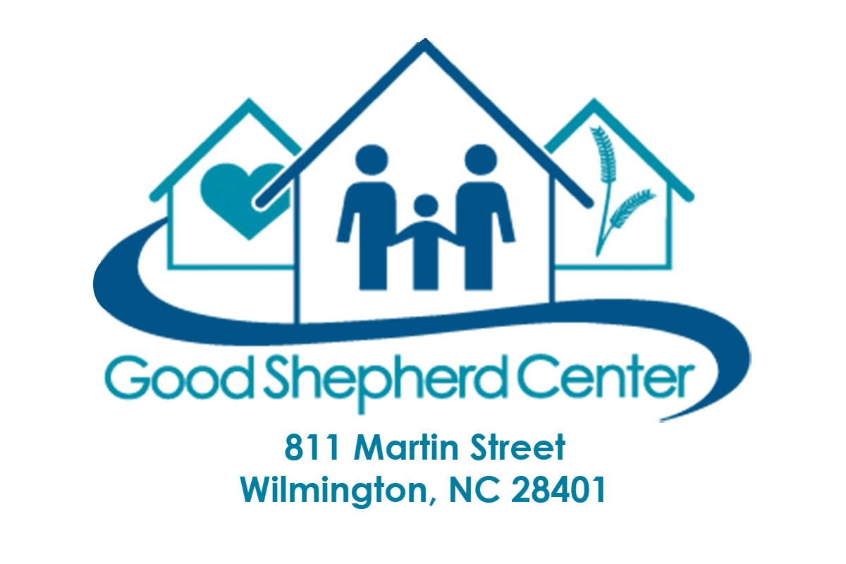 Good Shepard Logo with address