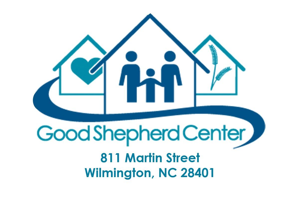 Good Shepard Logo with address
