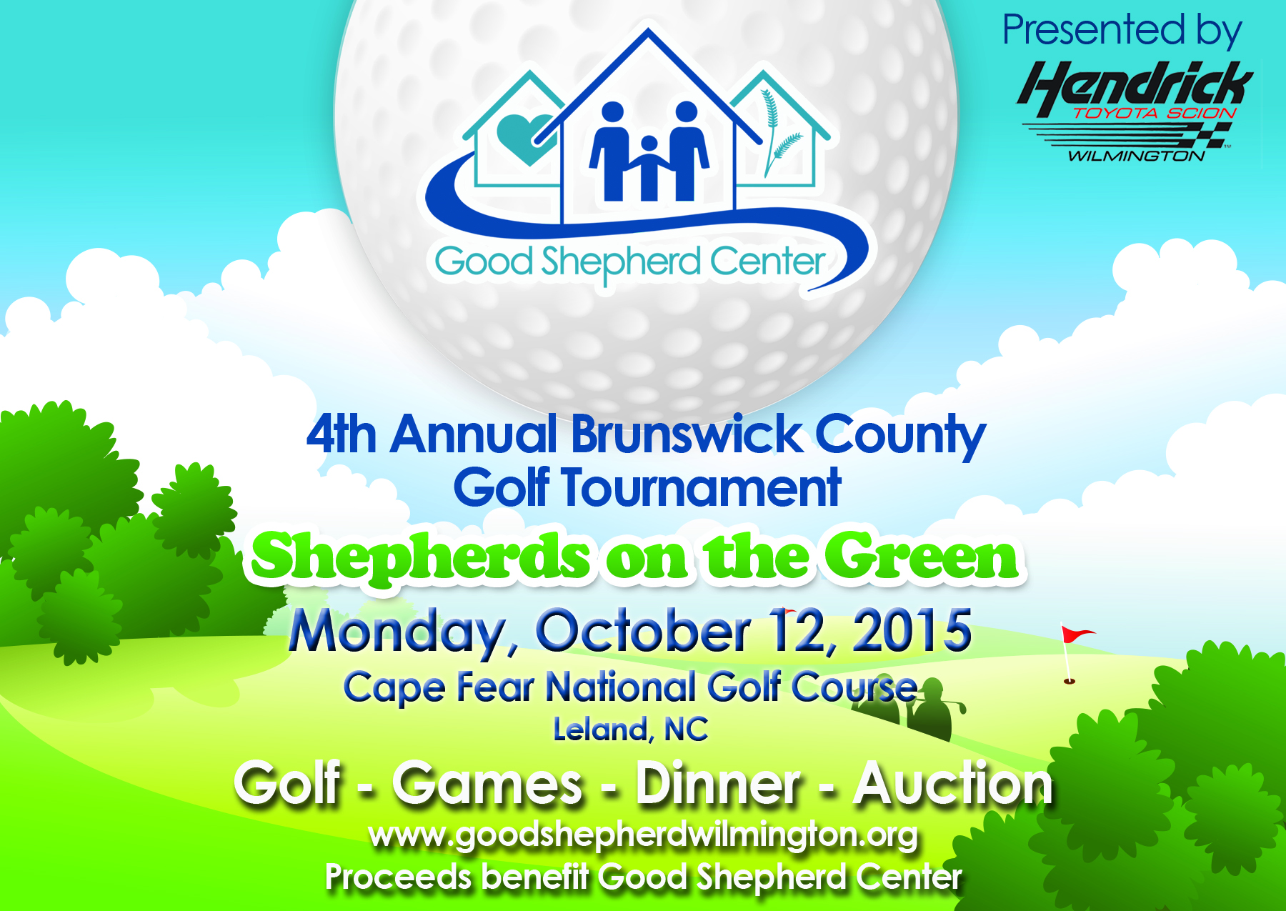 Shepherds On The Green Brunswick Golf Tournament October 12