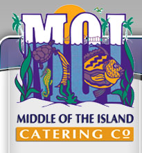 midle of the island
