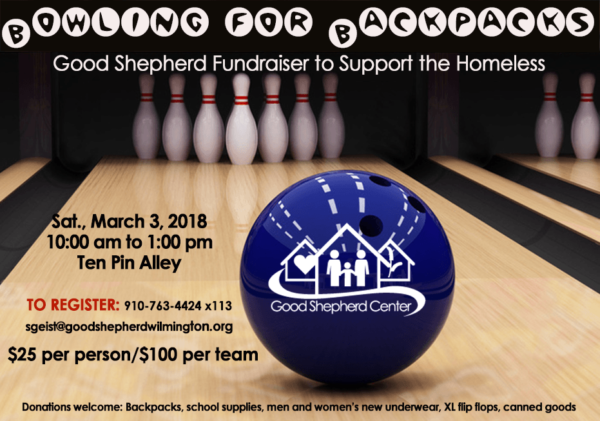 Bowling for Backpacks – March 3, 2018
