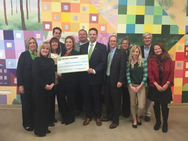 TD Bank's Charitable Foundation Awards SECU Lakeside Reserve